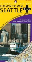 Seattle, Downtown, Washington by Great Pacific Recreation & Travel Maps
