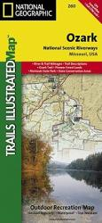 Ozark National Scenic Riverways, Map 260 by National Geographic Maps