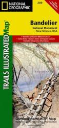 Bandelier National Monument, New Mexico, Map 209 by National Geographic Maps