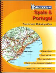 Spain and Portugal, Motoring Atlas (460) by Michelin Maps and Guides