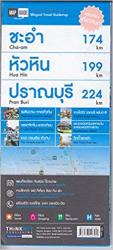 Hua Hin, Cha-Am, Pranburi, Bilingual Map by Thinknet