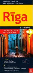 Riga, centre map by Jana Seta