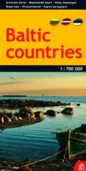 Baltic Countries, road map by Jana Seta
