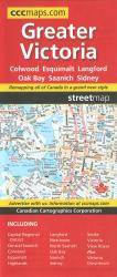 Greater Victoria, British Columbia by Canadian Cartographics Corporation