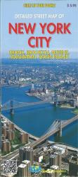 New York City, detailed streets of Bronx, Brooklyn, Queens, Manhattan, Staten Island by Global Graphics