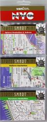 New York City, Manhattan StreetSmart Mini Map by VanDam