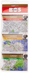 Boston, Massachusetts StreetSmart Mini Map by VanDam