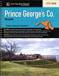 Prince George's County, MD, Street Atlas by Kappa Map Group