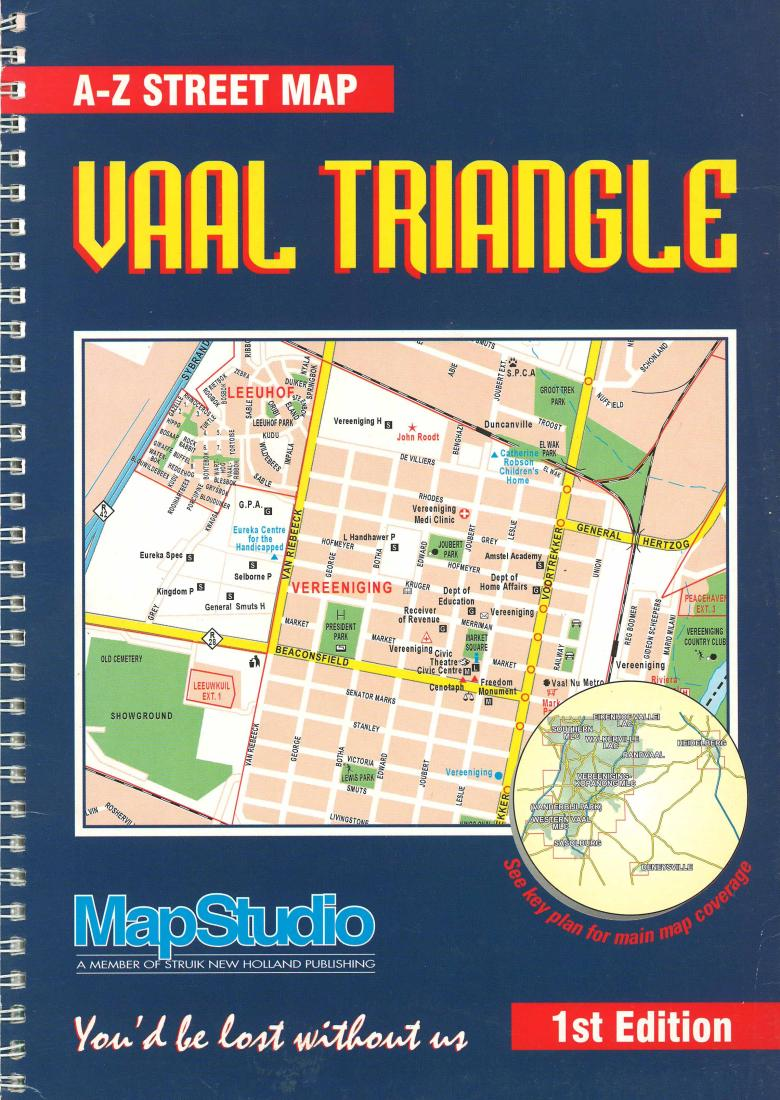 Vaal Triangle, South Africa by Map Studio