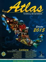 Tabasco, Mexico, State and Major Cities Map by Ediciones Independencia