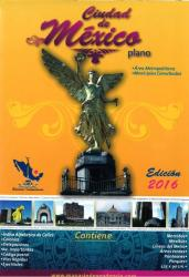 Mexico City, Mexico, 2016 Edition Metropolitan Area Map by Ediciones Independencia