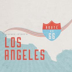 Route 66 Print by Maps International Ltd.