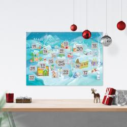 Scratch-Off North Pole Advent Calendar by Maps International Ltd.