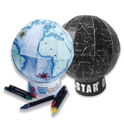 Craft Pack - MYO Globe by Maps International Ltd.