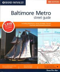 Baltimore, Maryland Metro Street Atlas (Spiral Bound) by Rand McNally