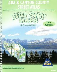 Ada and Canyon County, Idaho, Atlas by Big Sky Maps