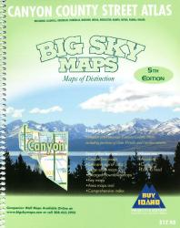 Canyon County, Idaho Atlas by Big Sky Maps