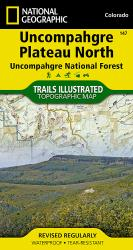 Uncompahgre Plateau, North, Map 147 by National Geographic Maps