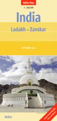 India, Ladakh and Zanskar by Nelles Verlag GmbH