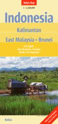 Indonesia, Kalimantan, East Malaysia and Brunei by Nelles Verlag GmbH