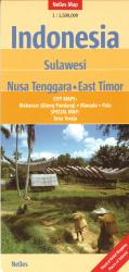 Indonesia, Sulawesi, Nusa Tenggara and East Timor by Nelles Verlag GmbH