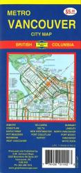 Vancouver Metro, City Map by GM Johnson