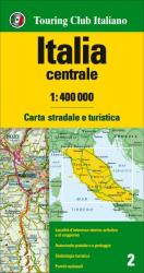 Italy, Central by Touring Club Italiano