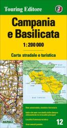 Campania and Basilicata by Touring Club Italiano