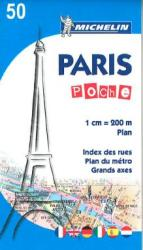Paris Pocket (50) by Michelin Maps and Guides