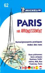 Paris by Arrondissements (62) by Michelin Maps and Guides