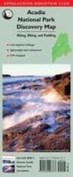 Acadia National Park Discovery Map by