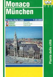 Munich, Germany by Litografia Artistica Cartografica