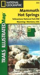 Mammoth Hot Springs by National Geographic Maps