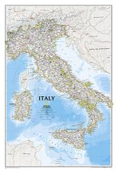 Italy, Classic, Sleeved by National Geographic Maps