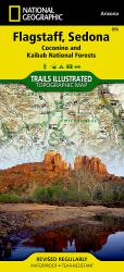 Flagstaff, Sedona, Coconino and Kaibab National Forests, Map 856 by National Geographic Maps