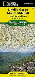 Linville Gorge, Mount Mitchell and Pisgah National Forest by National Geographic Maps
