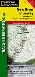 New River Blueway, Map 773 by National Geographic Maps