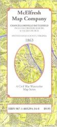 Chancellorsville Battlefield by McElfresh Map Co.
