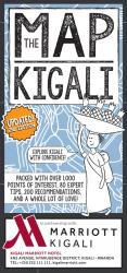 The Kigali Map by Kigali Guides Ltd.