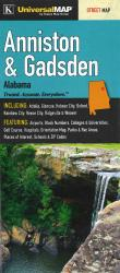 Anniston and Gadsden Street Map by Universal Map