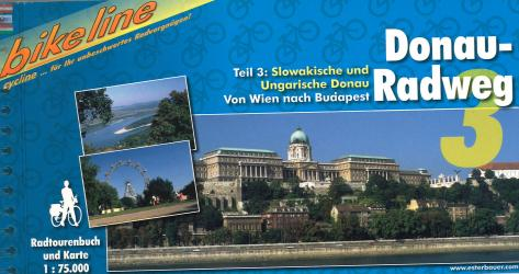Vienna to Budapest Bike Guide by Bikeline