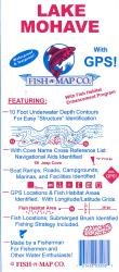 Lake Mohave Fishing Map by Fish-n-Map Company
