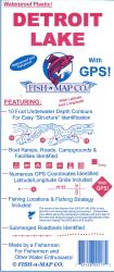 Conchas & Ute Reservoirs Fishing Map by Fish-n-Map Company
