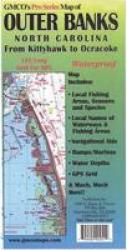 Outer Banks Chart & Fishing Map by GMCO Maps & Charts