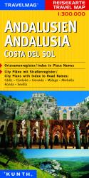 Andalucia and Costa del Sol, Spain by Kunth Verlag