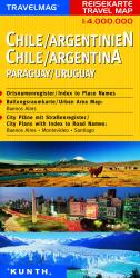 Chile, Argentina, Paraguay, and Uruguay by Kunth Verlag