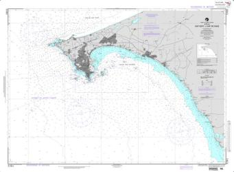 Cap Vert to Cap de Naze (NGA-51561) by National Geospatial-Intelligence Agency