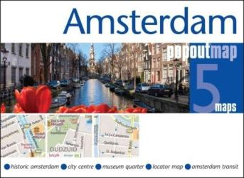 Amsterdam, Netherlands PopOut Map by PopOut Products, Compass Maps Ltd.