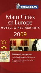 Europe, Main Cities, Red Guide by Michelin Maps and Guides