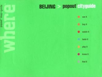 Beijing, China, CityGuide with PopOut Maps by Globe Pequot Publishing